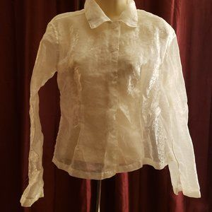 ANGELIQUE SHEER BLOUSE